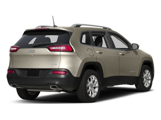 Light Brownstone Pearlcoat 2017 Jeep Cherokee Pictures Cherokee Utility 4D Latitude 2WD photos rear view