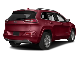 Deep Cherry Red Crystal Pearlcoat 2017 Jeep Cherokee Pictures Cherokee Utility 4D Overland 2WD photos rear view