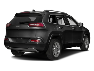 Diamond Black Crystal Pearlcoat 2017 Jeep Cherokee Pictures Cherokee Utility 4D Overland 4WD photos rear view