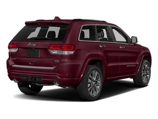 Velvet Red Pearlcoat 2017 Jeep Grand Cherokee Pictures Grand Cherokee Utility 4D Overland 2WD photos rear view