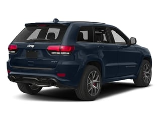 True Blue Pearlcoat 2017 Jeep Grand Cherokee Pictures Grand Cherokee SRT 4x4 photos rear view