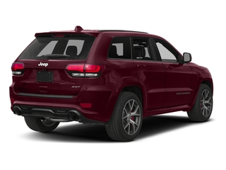 Velvet Red Pearlcoat 2017 Jeep Grand Cherokee Pictures Grand Cherokee SRT 4x4 photos rear view