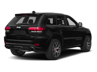 Diamond Black Crystal Pearlcoat 2017 Jeep Grand Cherokee Pictures Grand Cherokee SRT 4x4 photos rear view