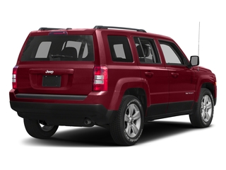 Deep Cherry Red Crystal Pearlcoat 2017 Jeep Patriot Pictures Patriot Utility 4D Sport 4WD I4 photos rear view