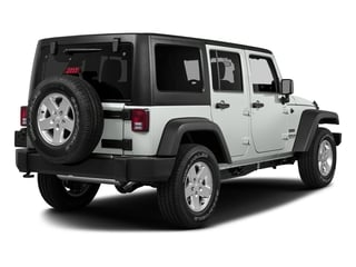 Bright White Clearcoat 2017 Jeep Wrangler Unlimited Pictures Wrangler Unlimited Big Bear 4x4 *Ltd Avail* photos rear view