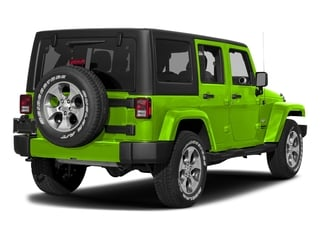 Hypergreen Clearcoat 2017 Jeep Wrangler Unlimited Pictures Wrangler Unlimited Sahara 4x4 photos rear view