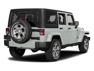 Bright White Clearcoat 2017 Jeep Wrangler Unlimited Pictures Wrangler Unlimited Sahara 4x4 photos rear view