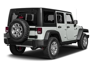 Bright White Clearcoat 2017 Jeep Wrangler Unlimited Pictures Wrangler Unlimited Rubicon Recon 4x4 photos rear view