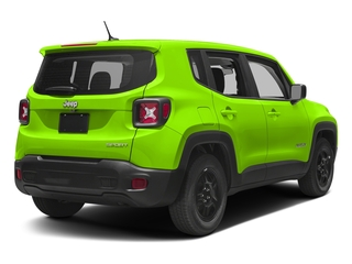 Hypergreen Clearcoat 2017 Jeep Renegade Pictures Renegade Sport 4x4 photos rear view