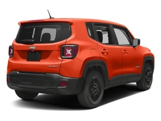 Omaha Orange 2017 Jeep Renegade Pictures Renegade Sport 4x4 photos rear view