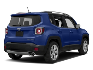 Jetset Blue 2017 Jeep Renegade Pictures Renegade Utility 4D Limited 2WD photos rear view