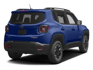 Jetset Blue 2017 Jeep Renegade Pictures Renegade Utility 4D Trailhawk AWD photos rear view