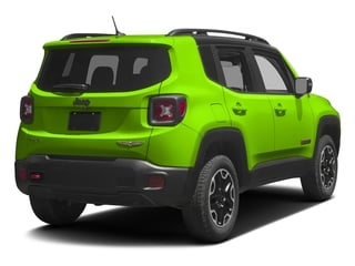 Hypergreen Clearcoat 2017 Jeep Renegade Pictures Renegade Utility 4D Trailhawk AWD photos rear view