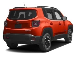 Omaha Orange 2017 Jeep Renegade Pictures Renegade Utility 4D Trailhawk AWD photos rear view