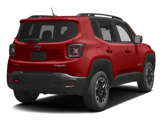 Colorado Red 2017 Jeep Renegade Pictures Renegade Utility 4D Trailhawk AWD photos rear view
