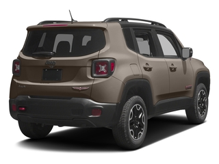 Mojave Sand 2017 Jeep Renegade Pictures Renegade Utility 4D Deserthawk 4WD photos rear view