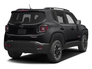 Black 2017 Jeep Renegade Pictures Renegade Utility 4D Trailhawk AWD photos rear view