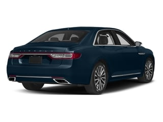 Midnight Sapphire Blue Metallic 2017 Lincoln Continental Pictures Continental Sedan 4D Livery photos rear view