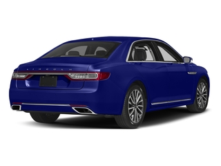 Rhapsody Blue 2017 Lincoln Continental Pictures Continental Sedan 4D Black Label AWD V6 Turbo photos rear view