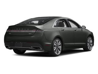 Magnetic Gray Metallic 2017 Lincoln MKZ Pictures MKZ Sedan 4D Select AWD I4 photos rear view
