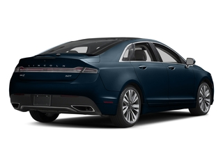 Midnight Sapphire Blue Metallic 2017 Lincoln MKZ Pictures MKZ Sedan 4D Select AWD I4 photos rear view