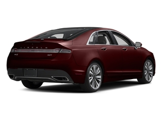 Burgundy Velvet Metallic Tinted Clearcoat 2017 Lincoln MKZ Pictures MKZ Sedan 4D Select AWD I4 photos rear view