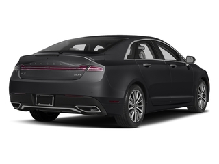 Black Velvet 2017 Lincoln MKZ Pictures MKZ Sedan 4D Select I4 Hybrid photos rear view