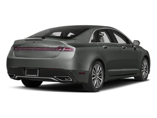 Magnetic Gray Metallic 2017 Lincoln MKZ Pictures MKZ Sedan 4D Select I4 Hybrid photos rear view