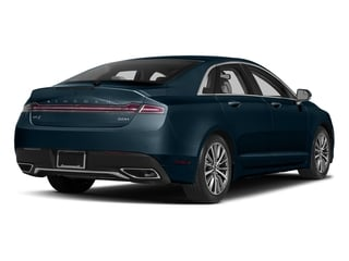Midnight Sapphire Blue Metallic 2017 Lincoln MKZ Pictures MKZ Sedan 4D Select I4 Hybrid photos rear view