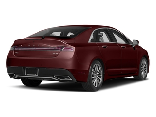 Burgundy Velvet Metallic Tinted Clearcoat 2017 Lincoln MKZ Pictures MKZ Sedan 4D Select I4 Hybrid photos rear view