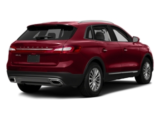 Ruby Red Metallic Tinted Clearcoat 2017 Lincoln MKX Pictures MKX Util 4D Reserve EcoBoost 2WD V6 photos rear view