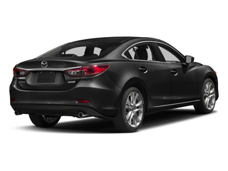 Jet Black Mica 2017 Mazda Mazda6 Pictures Mazda6 Sedan 4D Touring I4 photos rear view