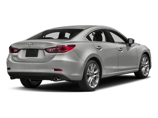 Sonic Silver Metallic 2017 Mazda Mazda6 Pictures Mazda6 Sedan 4D Touring I4 photos rear view