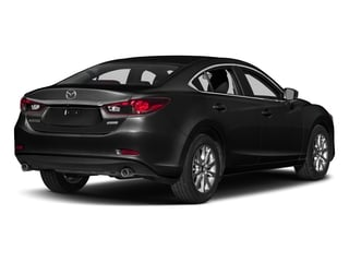 Jet Black Mica 2017 Mazda Mazda6 Pictures Mazda6 Sedan 4D Sport I4 photos rear view