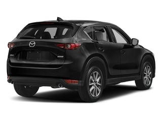 Jet Black Mica 2017 Mazda CX-5 Pictures CX-5 Grand Touring FWD photos rear view