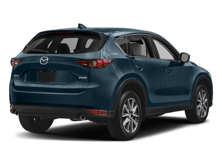 Deep Crystal Blue Mica 2017 Mazda CX-5 Pictures CX-5 Grand Touring FWD photos rear view