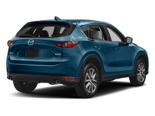 Eternal Blue Mica 2017 Mazda CX-5 Pictures CX-5 Grand Touring FWD photos rear view