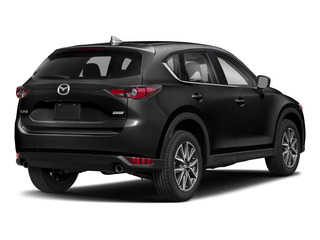 Jet Black Mica 2017 Mazda CX-5 Pictures CX-5 Grand Select FWD photos rear view