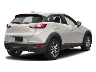 Crystal White Pearl Mica 2017 Mazda CX-3 Pictures CX-3 Touring FWD photos rear view