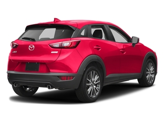 Soul Red Metallic 2017 Mazda CX-3 Pictures CX-3 Touring FWD photos rear view