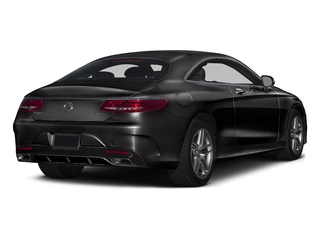 designo Mocha Black 2017 Mercedes-Benz S-Class Pictures S-Class Coupe 2D S550 AWD V8 Turbo photos rear view