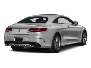 designo Magno Alanite Grey (Matte Finish) 2017 Mercedes-Benz S-Class Pictures S-Class Coupe 2D S550 AWD V8 Turbo photos rear view