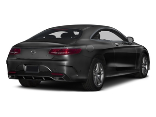 Magnetite Black Metallic 2017 Mercedes-Benz S-Class Pictures S-Class Coupe 2D S550 AWD V8 Turbo photos rear view
