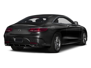 Obsidian Black Metallic 2017 Mercedes-Benz S-Class Pictures S-Class Coupe 2D S550 AWD V8 Turbo photos rear view