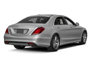 designo Magno Alanite Grey (Matte Finish) 2017 Mercedes-Benz S-Class Pictures S-Class Sedan 4D S550 V8 Turbo photos rear view