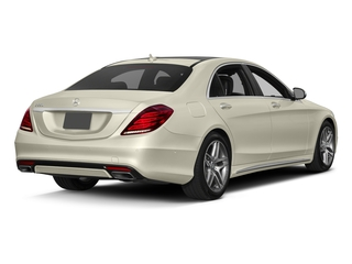 designo Diamond White Metallic 2017 Mercedes-Benz S-Class Pictures S-Class Sedan 4D S550 V8 Turbo photos rear view