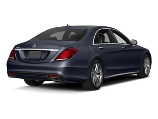 Lunar Blue Metallic 2017 Mercedes-Benz S-Class Pictures S-Class Sedan 4D S550 V8 Turbo photos rear view