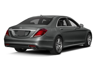 Selenite Grey Metallic 2017 Mercedes-Benz S-Class Pictures S-Class Sedan 4D S550 V8 Turbo photos rear view