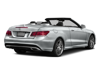 Iridium Silver Metallic 2017 Mercedes-Benz E-Class Pictures E-Class E 550 RWD Cabriolet photos rear view