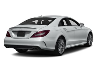 Iridium Silver Metallic 2017 Mercedes-Benz CLS Pictures CLS CLS 550 Coupe photos rear view